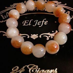 Natural Red Jade Bracelet